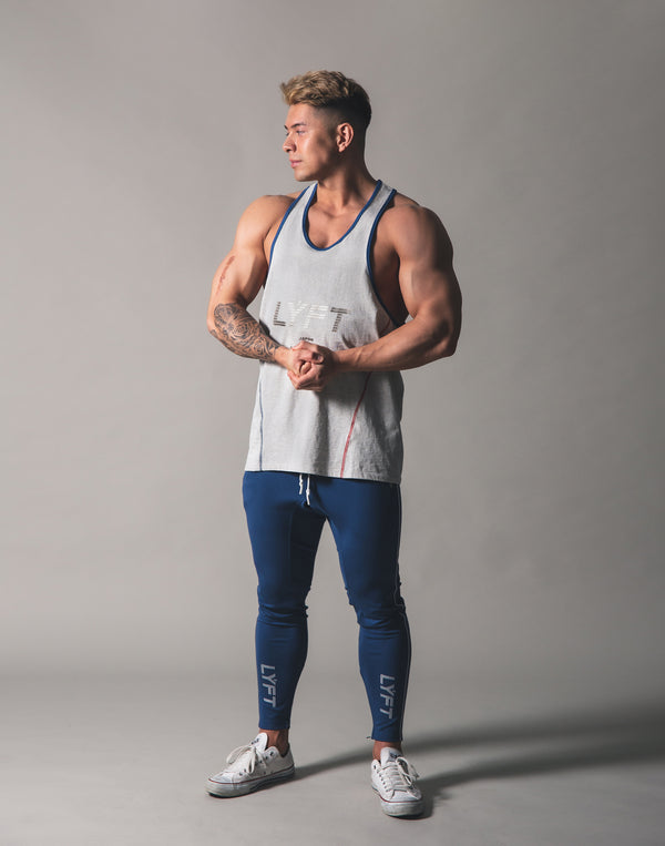 Piping Training Tanktop - Grey