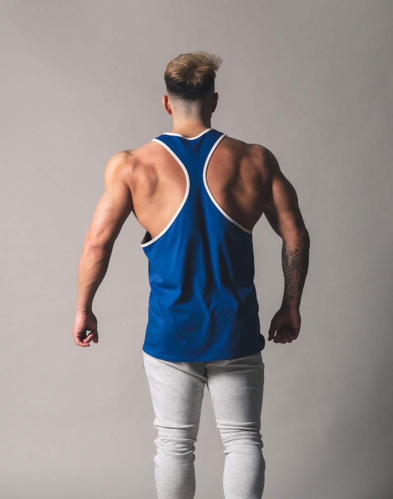 Piping Training Tanktop - Blue