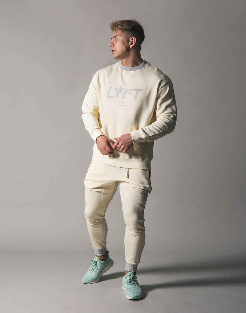 Piping Sweat Crew Neck - Champagne