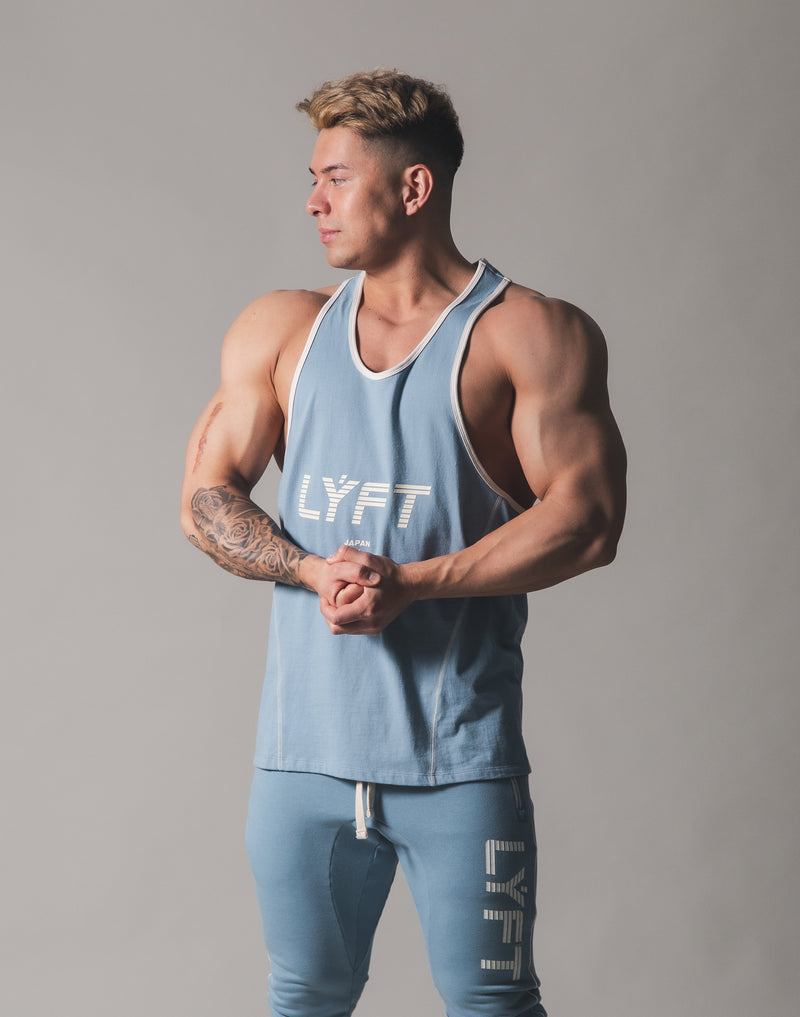 Piping Training Tanktop - L.Blue