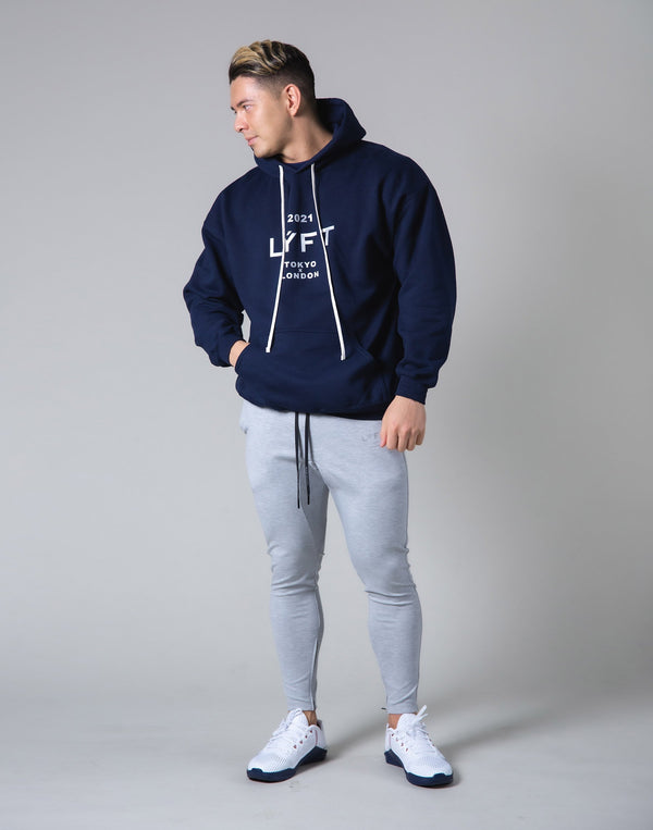 2021 Limited Logo Pullover Hoodie - Navy