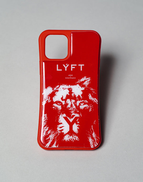 "LÝFT iPhone Case LION - Red ""予約商品"""