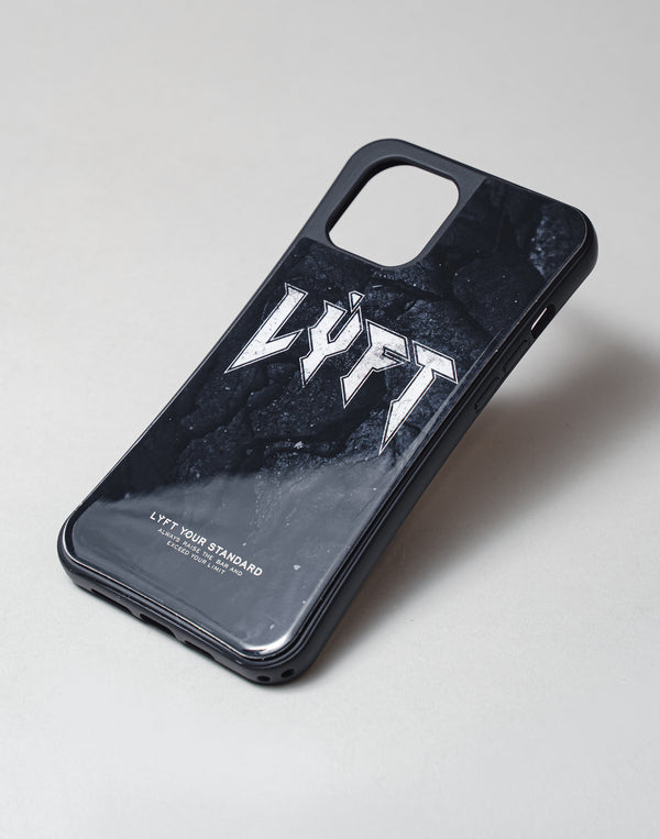 "LÝFT iPhone Case London Punk Logo - Black Stone  ""予約商品"""