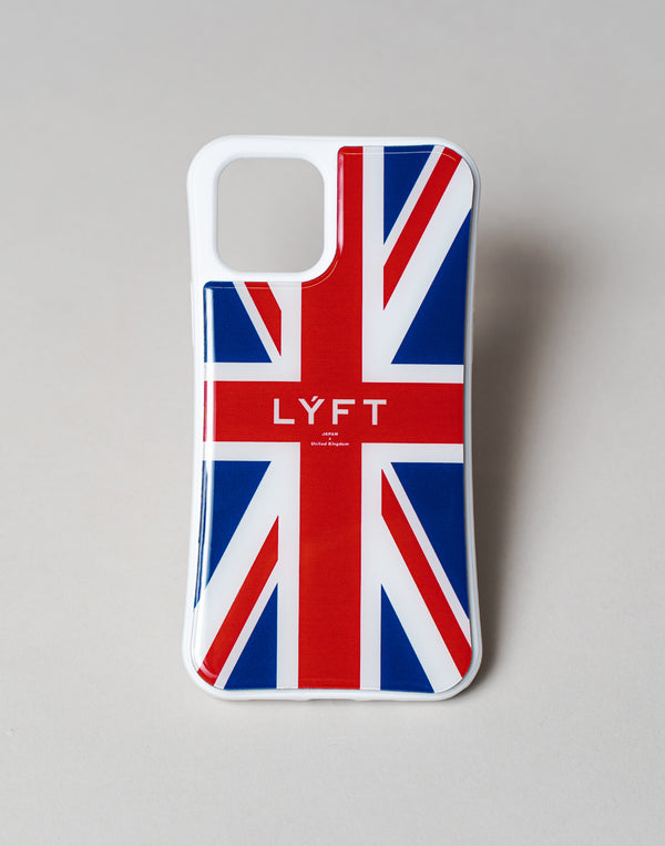 "LÝFT iPhone Case UK Flag""予約商品"""