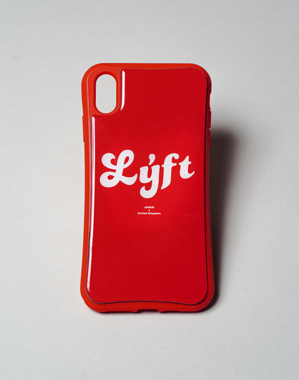 "LÝFT iPhone Case Old Logo - Red""予約商品"""