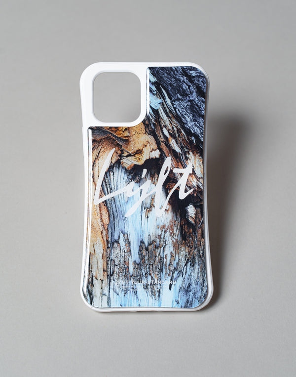 "LÝFT iPhone Case Script Logo - Blue Wood ""予約商品"""