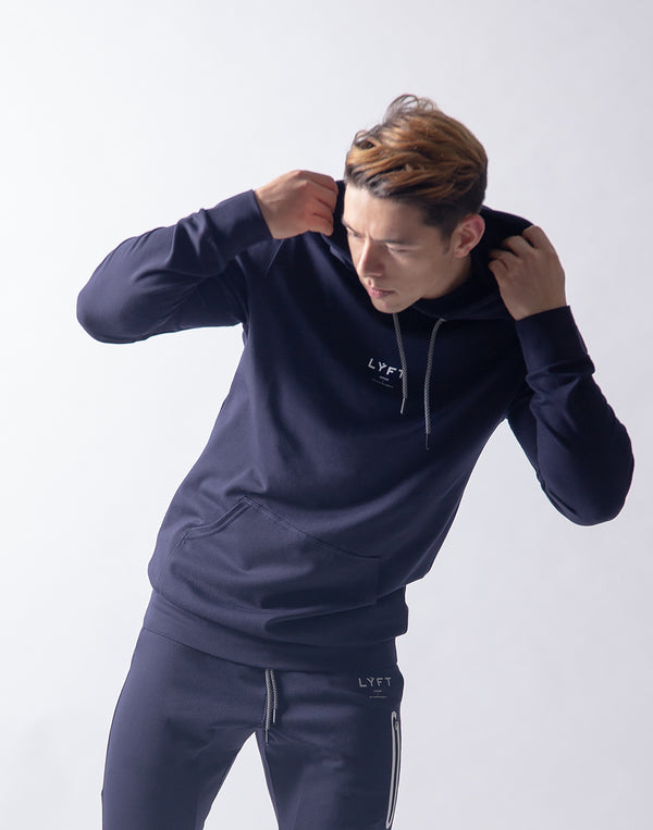 LÝFT 2way Stretch Pullover - Navy