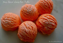 Load image into Gallery viewer, Sweet Apricot Bubbling Bath Truffle
