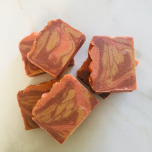 "Load image into Gallery viewer, ""Golden Pumpkin"" Luxury Bath Soap"