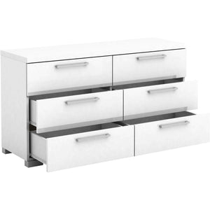 Gloss 3+3 Chest of Drawers