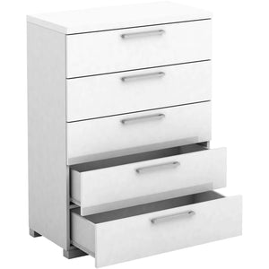 Gloss 5 Drawer Chest