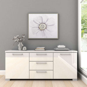 Gloss 2 Door + 3 Drawer Buffet