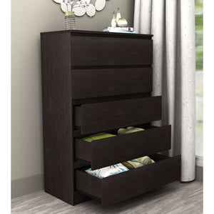 Coco 5 Drawer Chest Brown