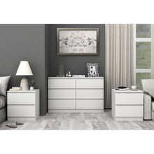 Load image into Gallery viewer, Coco Lowboy Suite Satin White