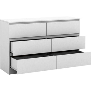 Coco Lowboy Suite Satin White