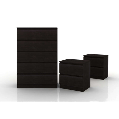 Coco Tallboy Suite Black Brown