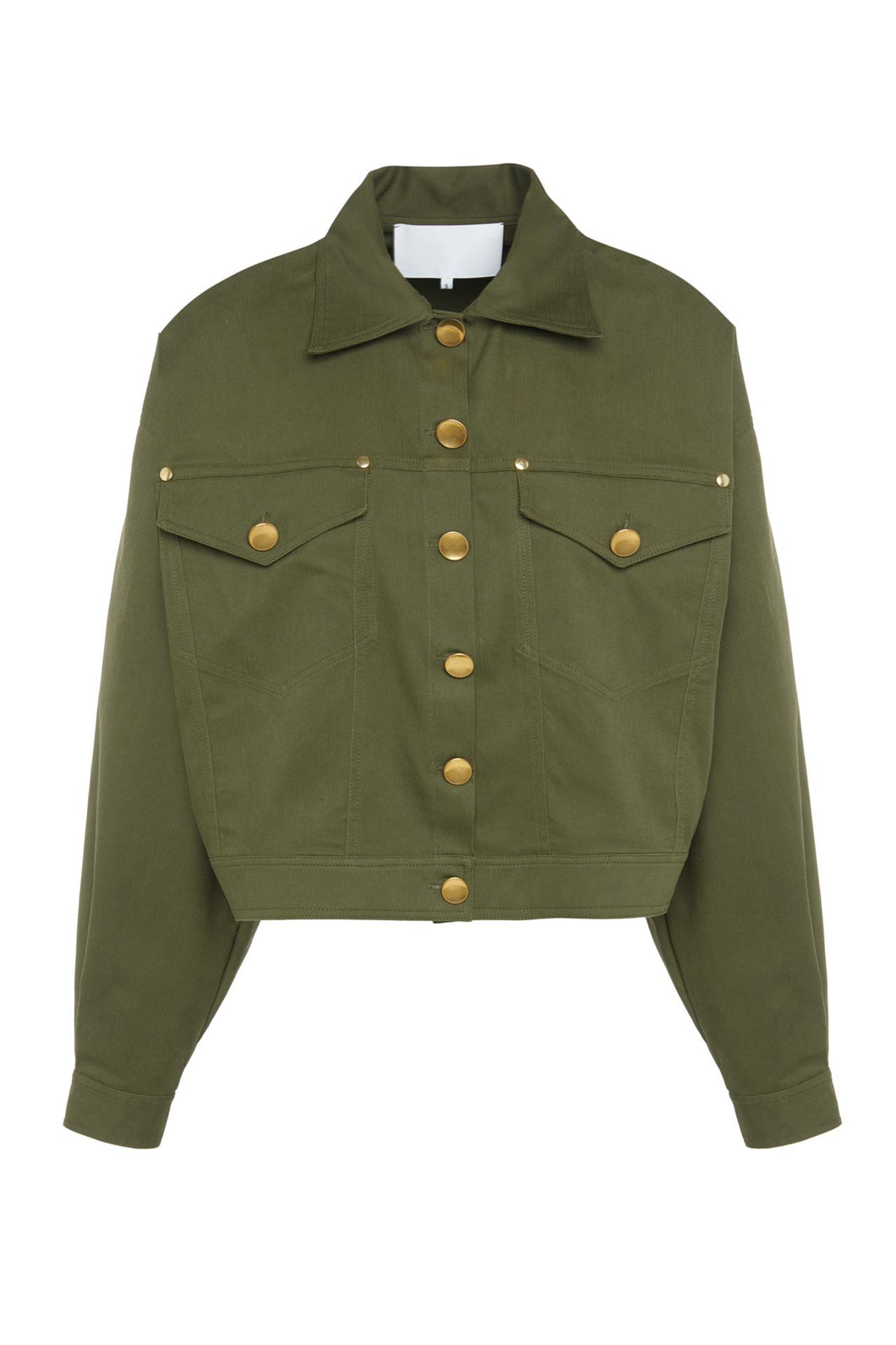 Green Trucker Jacket