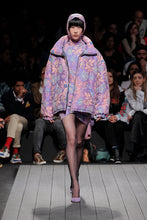 Load image into Gallery viewer, Brocade Puffer Jacket