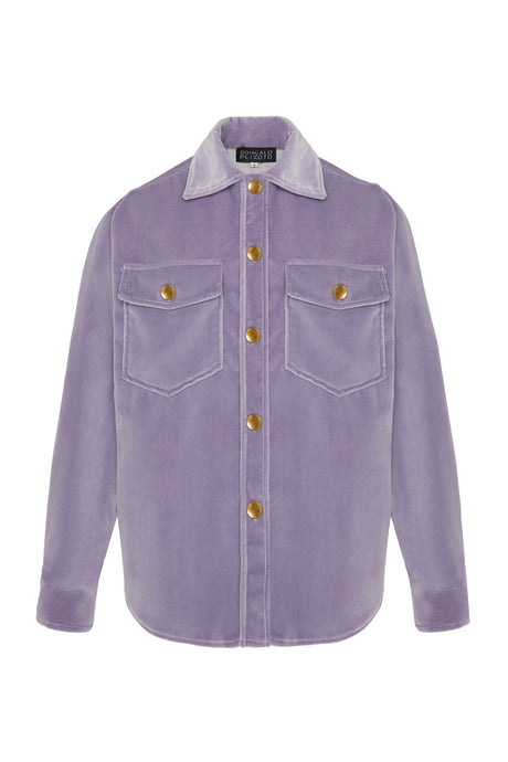 Oversized purple  Shirt