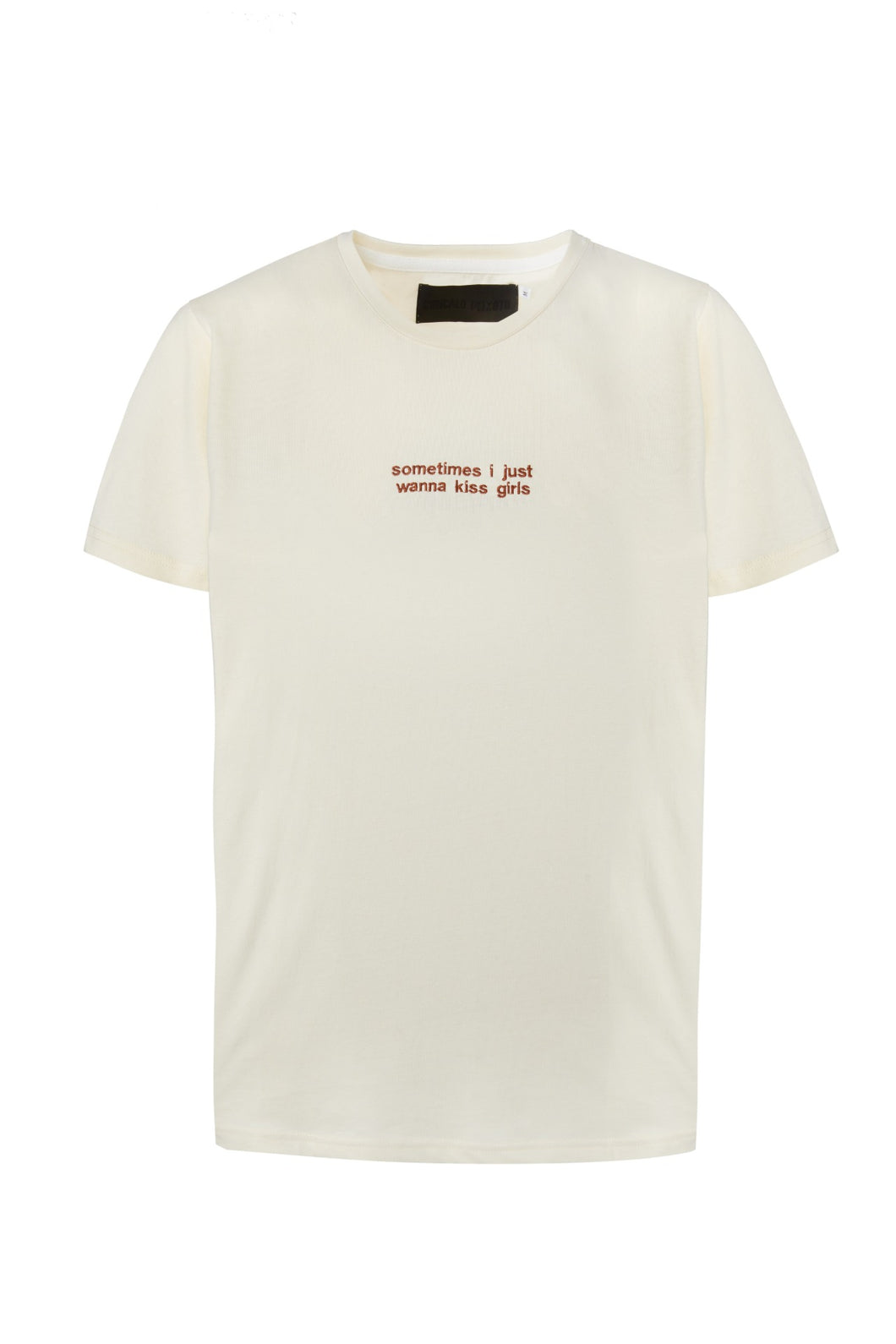 Nude T-shirt Embroidery