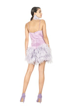 Load image into Gallery viewer, Feathers Short Dress