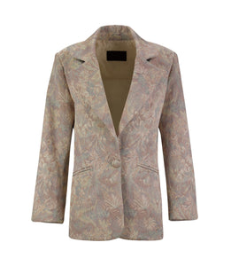 Brocade Oversized Blazer