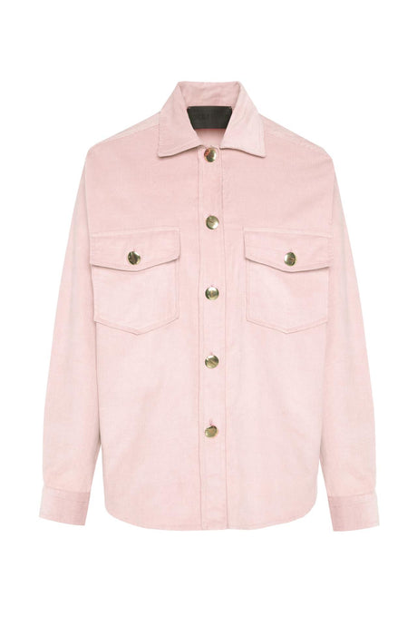 Pale Pink Oversized Shirt