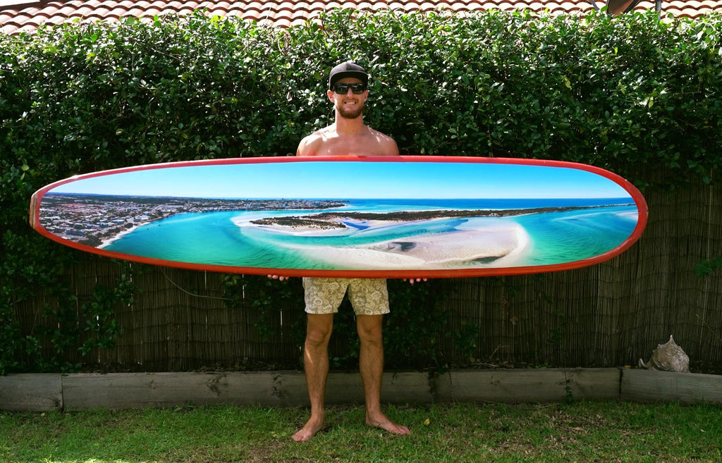 Surfboard Mounted Prints