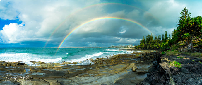Double Rainbow - Kings Beach - Surf Art Apparel