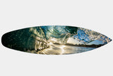 Kings Beach Glass - Surfboard Mounted Print - Surf Art Apparel