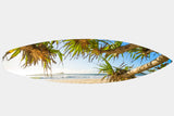 Mudjimba Pandanus - Surfboard Mounted Print - Surf Art Apparel
