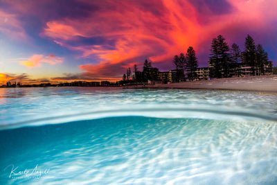 Fire & Ice - Caloundra - Surf Art Apparel
