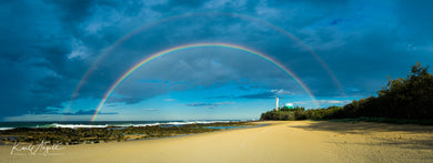 Rainbow - Point Cartwright - Surf Art Apparel