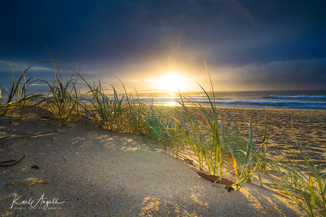 Grassy Sunrise - Currimundi - Surf Art Apparel