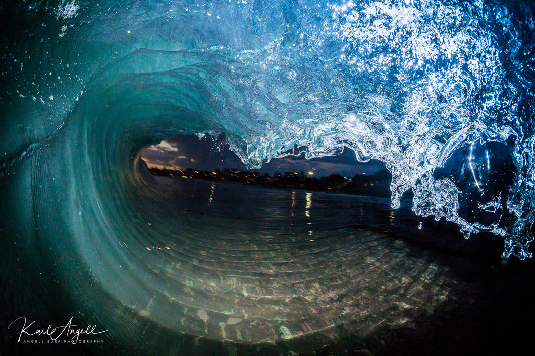 Night Flash - Kings Beach - Surf Art Apparel