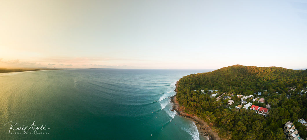 Noosa Lines From Above - Surf Art Apparel