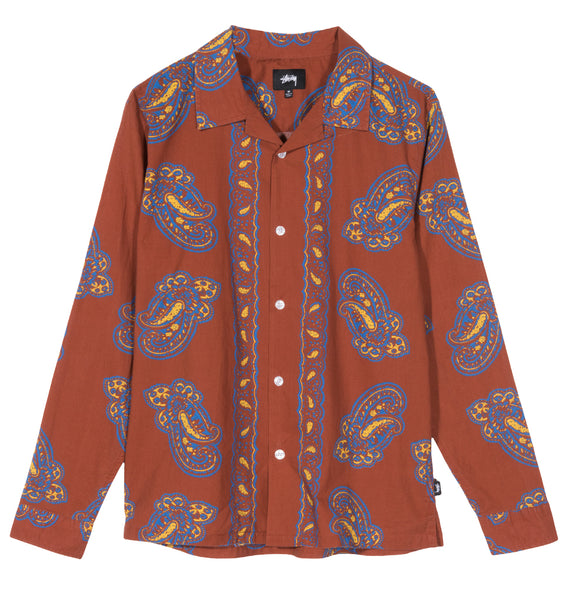 BIG PAISLEY LS SHIRT