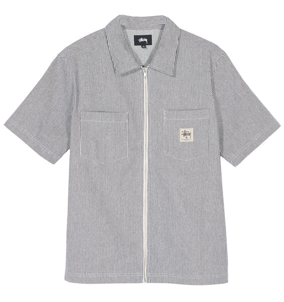HICKORY STRIPE WORK SHIRT