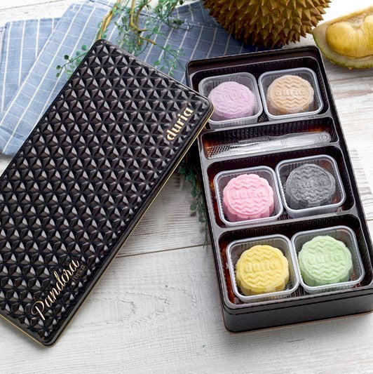 【月光宝盒】六款冰皮口味 (6件装) <br>【Pandora Box】6 Assorted Flavours Snowy Skin Mooncake (6 Pcs)