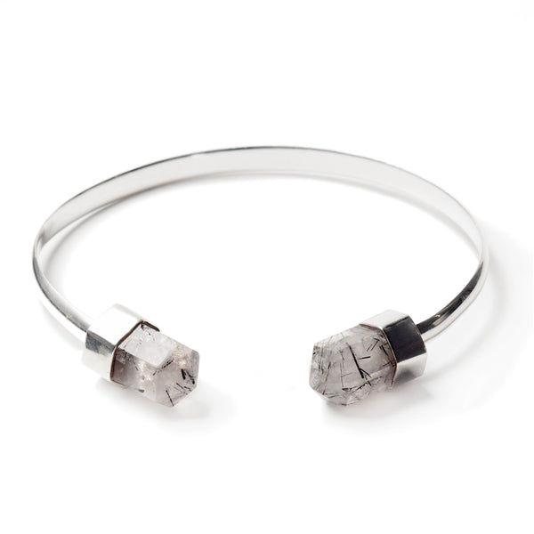 BANGLE - quartz rutilés