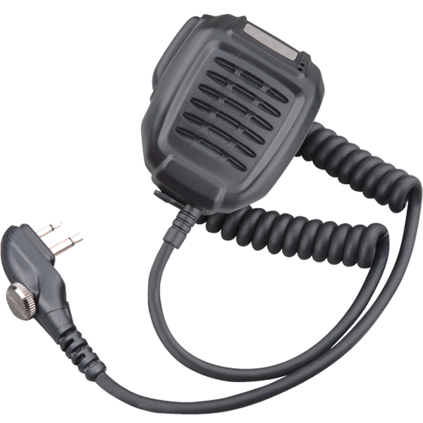 SM08M3 Remote Speaker Microphone With 3.5mm Audio Jack and Swivel Clip.