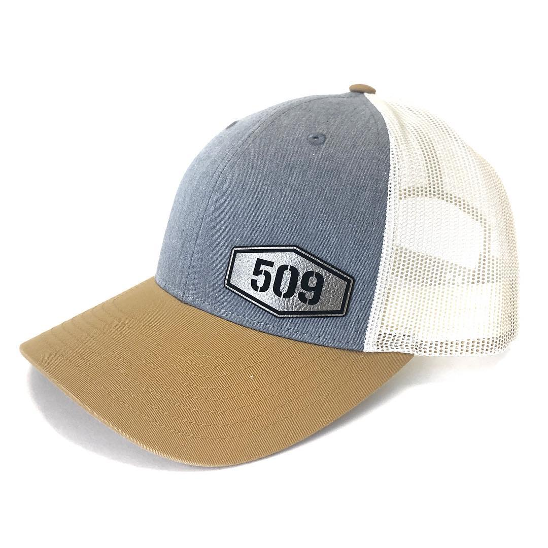 509 Badge on Tri-Colored Snapback