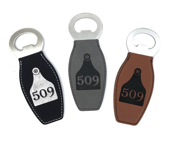 Magnetic 509 Tag bottle opener