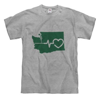 Eastern Washington has heart T-Shirt