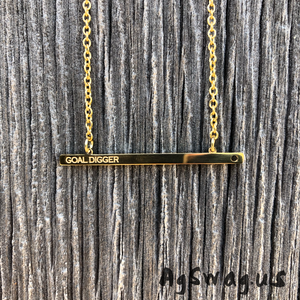 Goal Digger necklace