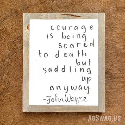 Courage Quote by John Wayne