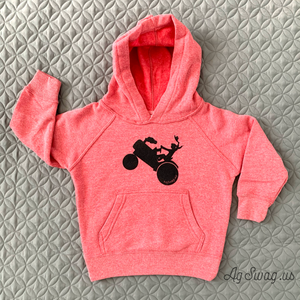 Tractor Girl Hoodie Toddler/Youth Sizes