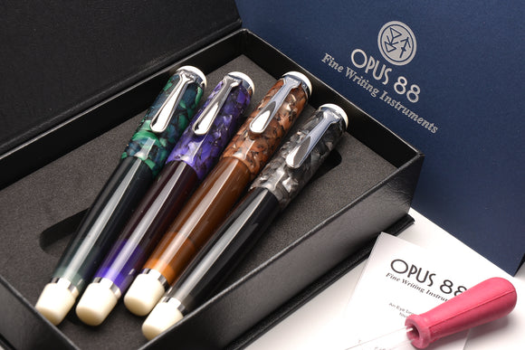 OPUS88 Fountain Pens (NEW!)