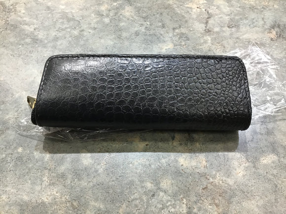 Leather Zippered Single Pen Case!