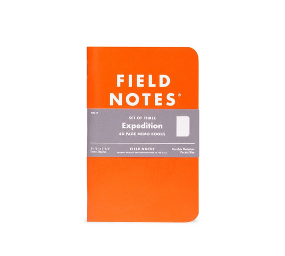Field Notes Expedition Pocket Notebooks